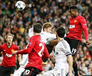 Danny Welbeck's away goal before Cristiano Ronaldo's equalizer means that the tie between Manchester United and Real Madrid is evenly poised ahead of the March 5 encounter.