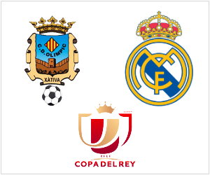 Real Madrid commence their Copa del Rey adventure away to Olimpic Xativa on December 7, 2013