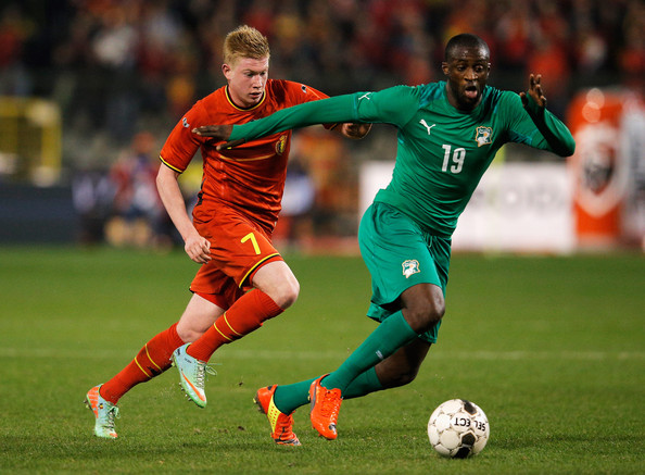 International Friendlies, Ivory Coast, Belgium, Yaya Toure, Kevin De Bruyne