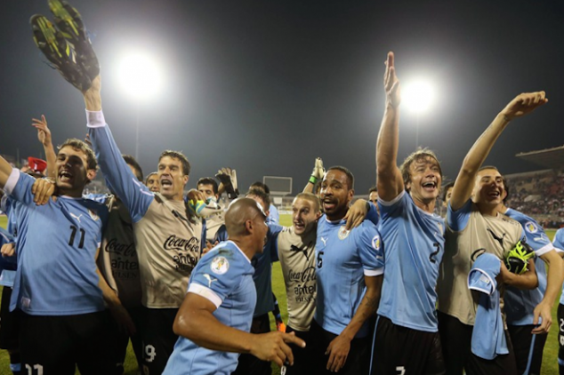 Uruguay arrives in Brazil hopeful of a third title