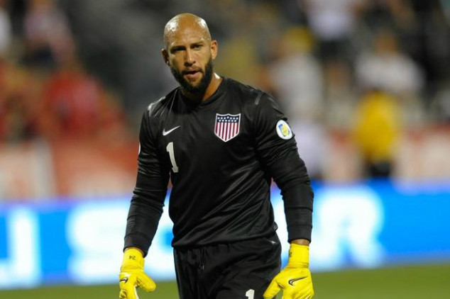 Tim Howard talks about diving
