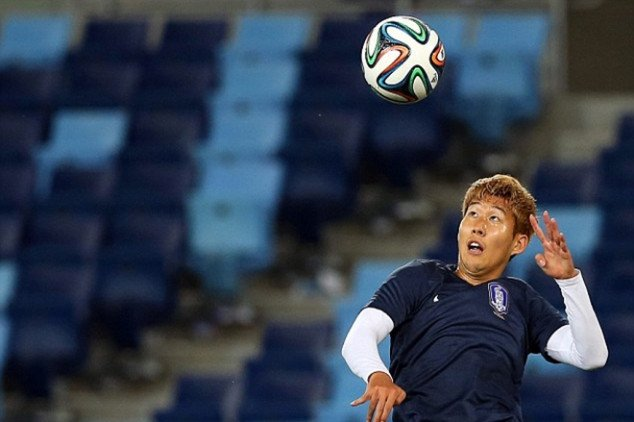 Korea take on Russia in Group H's second clash