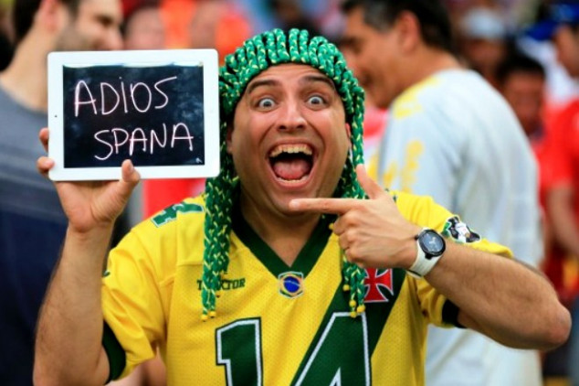 Spain hit with World Cup defending champions curse