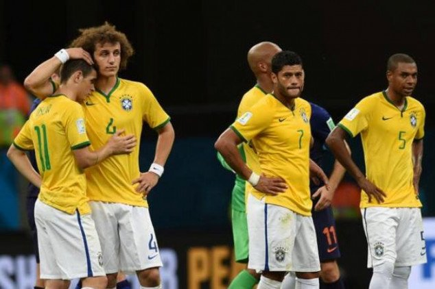 Brazil's first consecutive home defeats since 1940