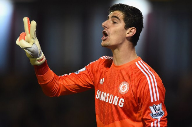 Courtois will remain with Chelsea until 2019