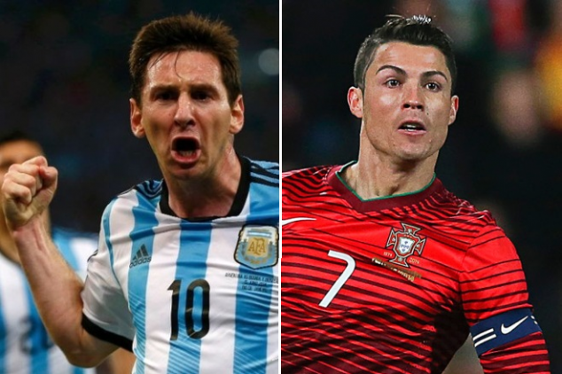 Portugal vs Argentina: Watch CR7 and Messi clash