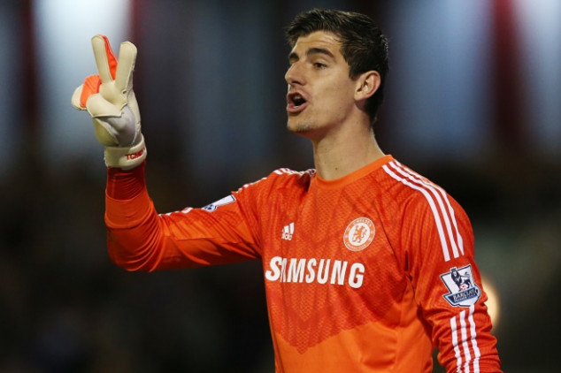 Courtois feels quite happy with Chelsea