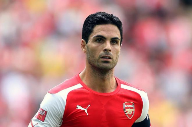 Arteta will be out for three months