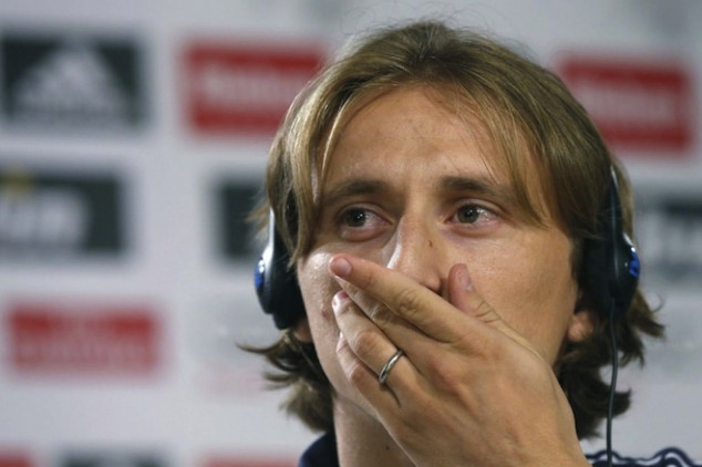 Modric says rehab is going according to plan