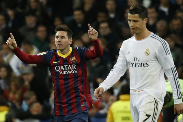 Messi beats Ronaldo as highest-paid player of 2014