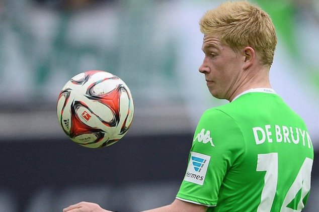 De Bruyne is not available for Man City