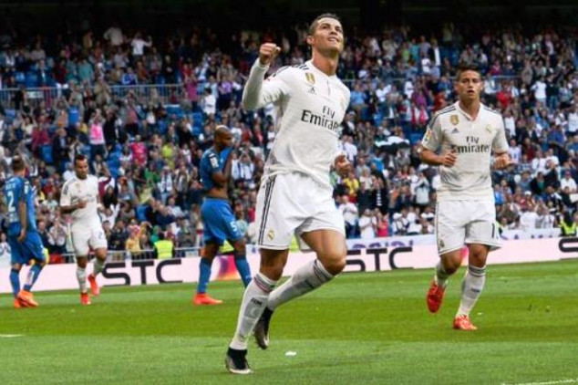CR7 scores another hat-trick