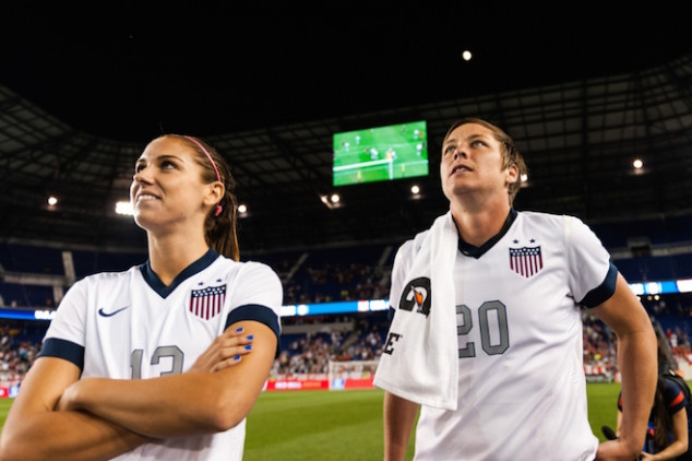USAWNT hypes up their FIFA WWC Opener