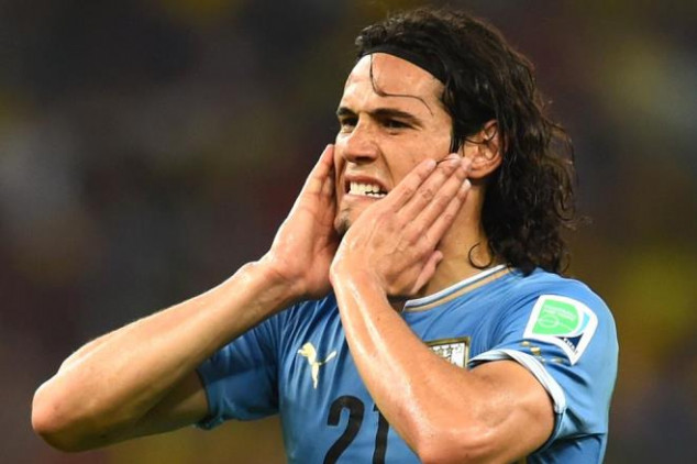 Cavani will play against Chile