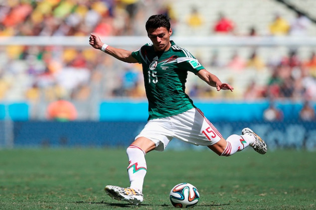 Moreno is out of Mexico's Gold Cup roster
