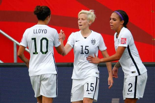 The eight Golden Ball nominees at the WWC