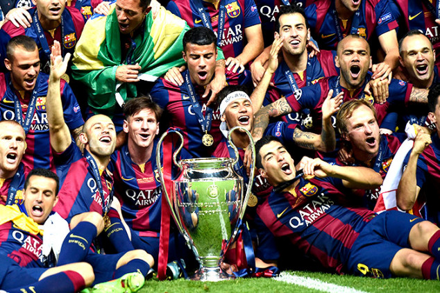 Barca NOT Europe's best team in new rankings