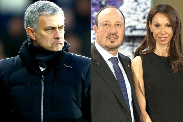 Mou launches attack on Fat Rafa and wife