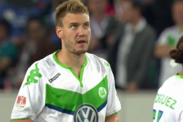 Lord Bendtner wins the Super Cup for Wolfsburg