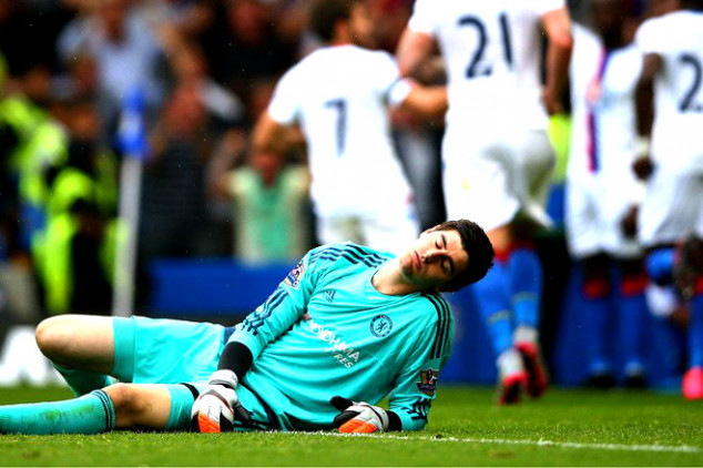 Courtois out for two months