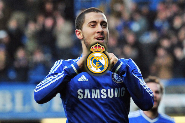 Madrid keeps pushing and aims for Eden Hazard