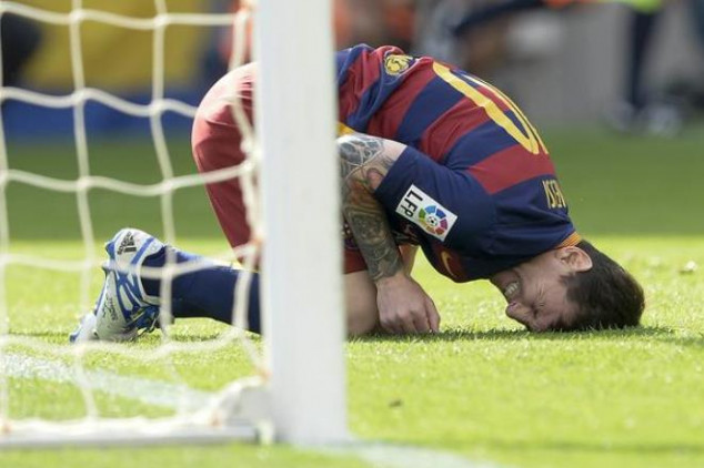 Messi states he won't speed up his recovery