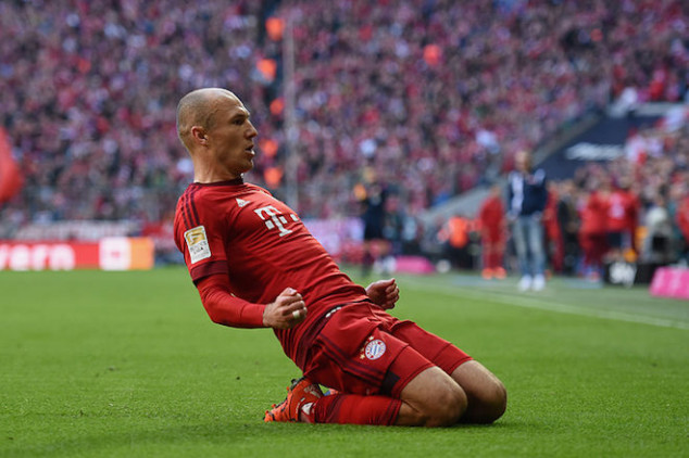 Robben excited to face Wolfsburg in DFB Pokal