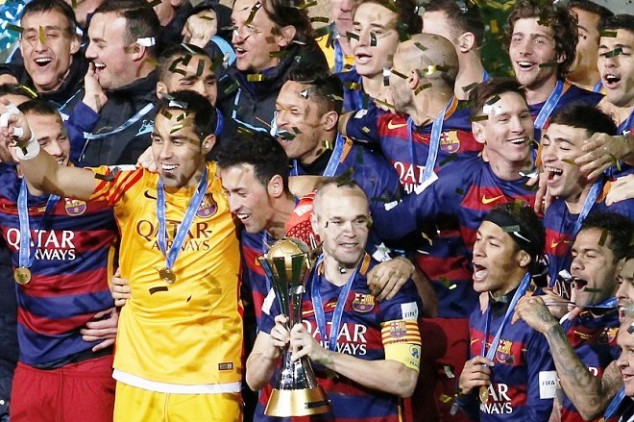 Barca are the new FIFA CWC champions