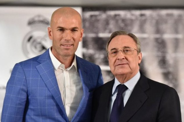 Zidane takes over as Real Madrid's coach