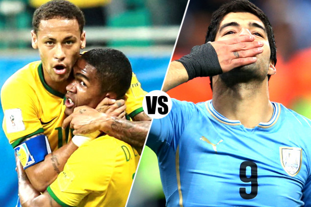 Brazil vs Uruguay live streaming info