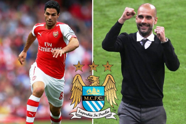 Arsenal captain could join Pep at City
