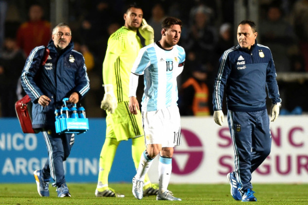 Messi unlikely to start vs Chile