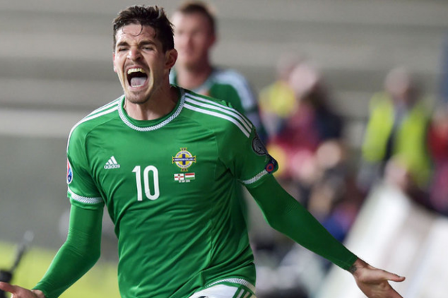Kyle Lafferty fit for opening Euro 2016 game
