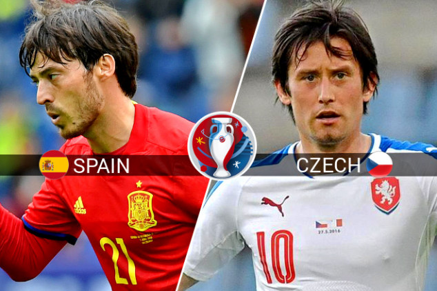 Spain vs Czech Republic broadcasting info