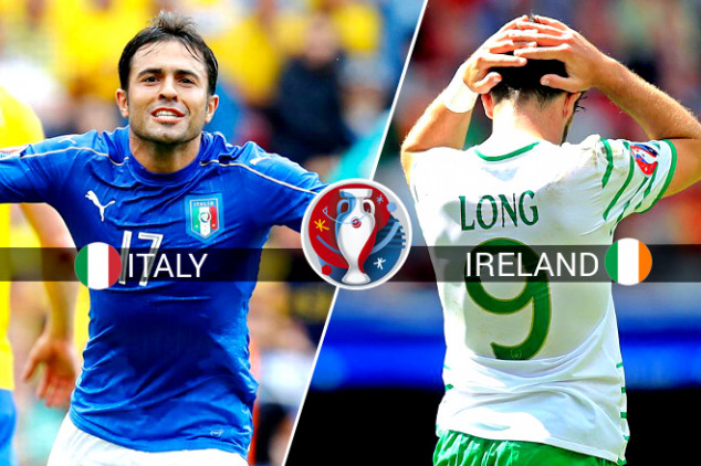 Italy vs Republic of Ireland live stream & TV info
