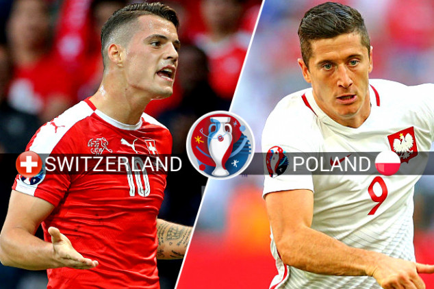 Switzerland takes on Poland on Saturday