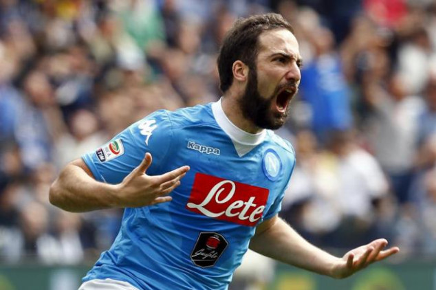 Higuain will leave Napoli in 2018...or earlier