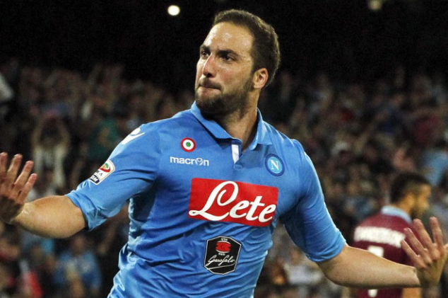 Atletico Madrid reportedly make offer for Higuain