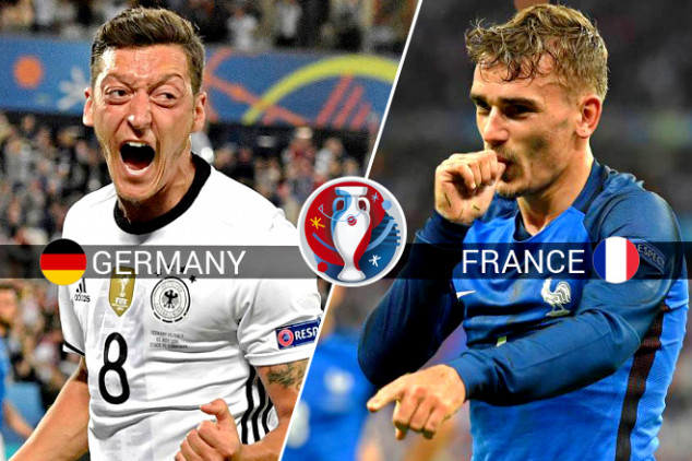 Germany vs France live stream & TV info