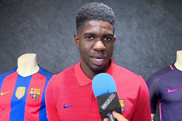 Samuel Umtiti excited to play for Barca