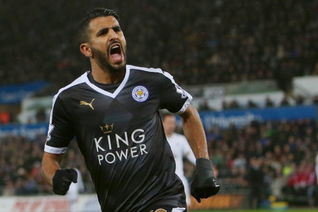 Mahrez signs contract extension with LCFC