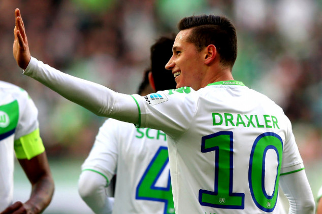 Draxler linked with €75m Wolfsburg exit