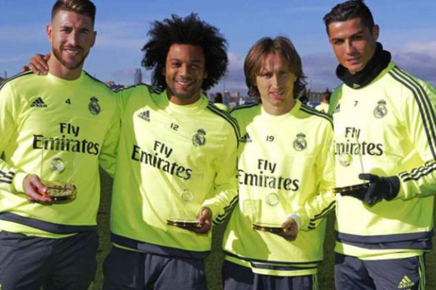 Modric back in Real Madrid's training sessions