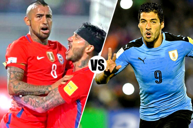 Where to watch Chile vs. Uruguay