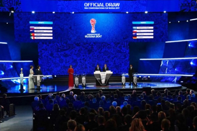 2017 Confederation Cup groups revealed