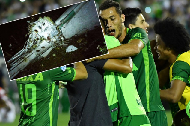 Plane carrying Chapecoense players crashes