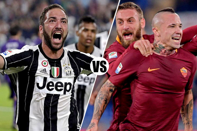 Serie A round 17 US listings
