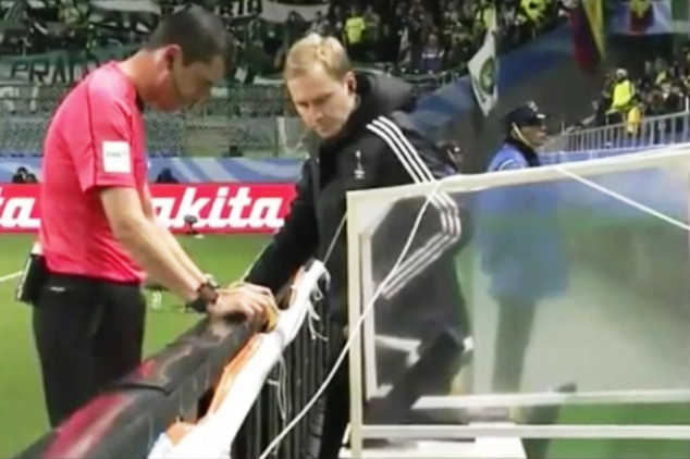 First VAR technology used in official FIFA match