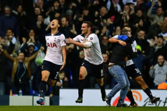Son lifts Tottenham over Wycombe with brace