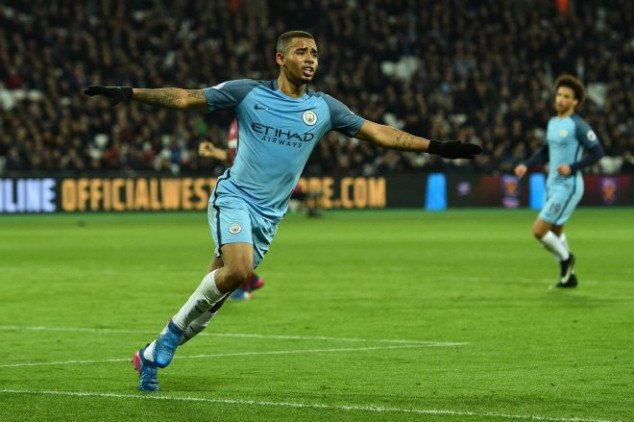 Jesus sets EPL record with Man City